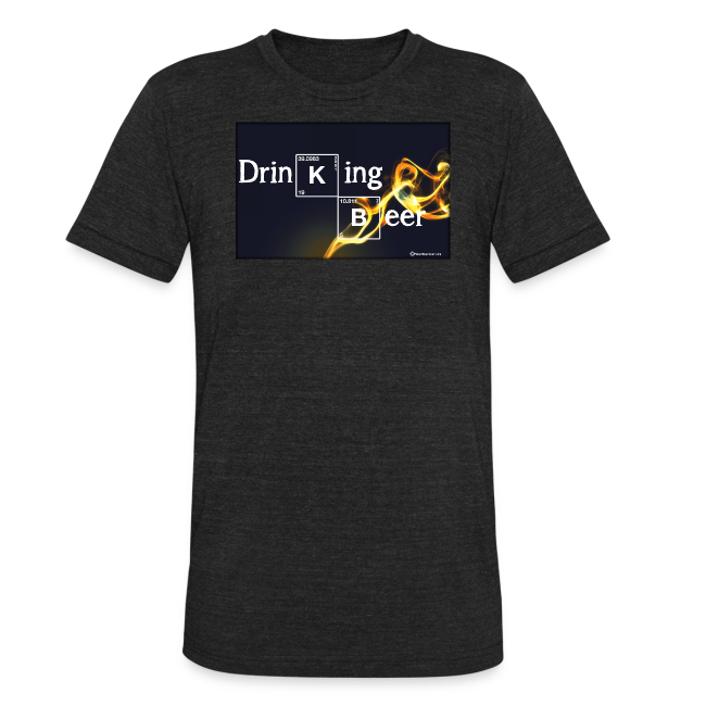 Drinking Beer Unisex Tri-Blend T-Shirt