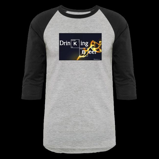 Drinking Beer Baseball T-Shirt