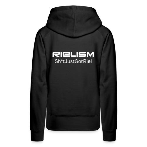 Female Premium Rielism Hoody  - Women's Premium Hoodie