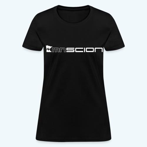 Women's T- Shirt with only front logo (white logo) - Women's T-Shirt