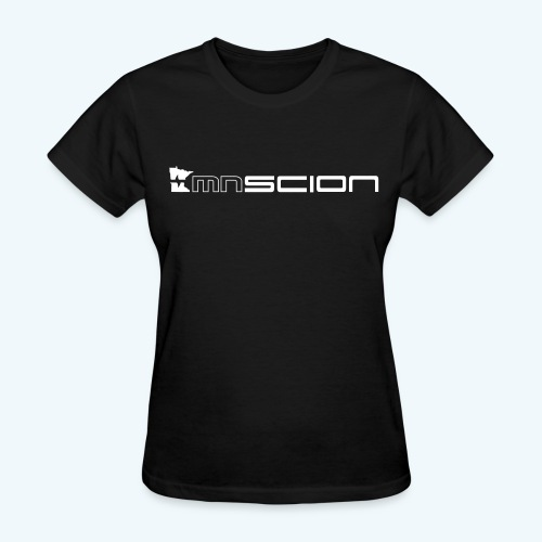 Women's T- Shirt with only front logo (white logo) - Women's T-Shirt