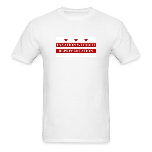Taxation without Representation DC Flag Tee - Men's T-Shirt
