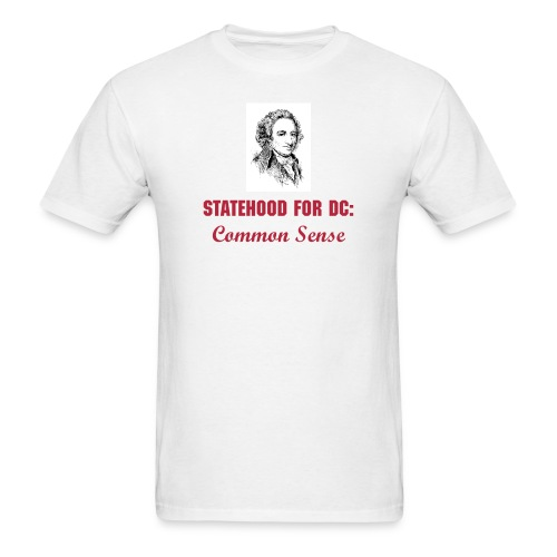 Statehood: Common Sense Tee - Men's T-Shirt