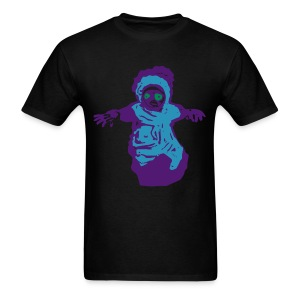 Cucumber Baby SOFT flock print T-Shirt hstreet cool horror - Men's T-Shirt