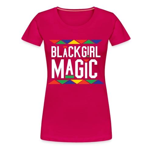 Black Girl Magic RED - Women's Premium T-Shirt