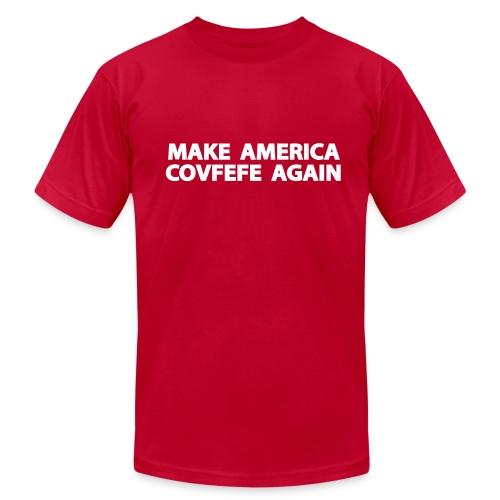 MAKE AMERICA COVFEFE AGAIN - Men's Fine Jersey T-Shirt