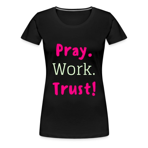 Pink Prayers - Women's Premium T-Shirt