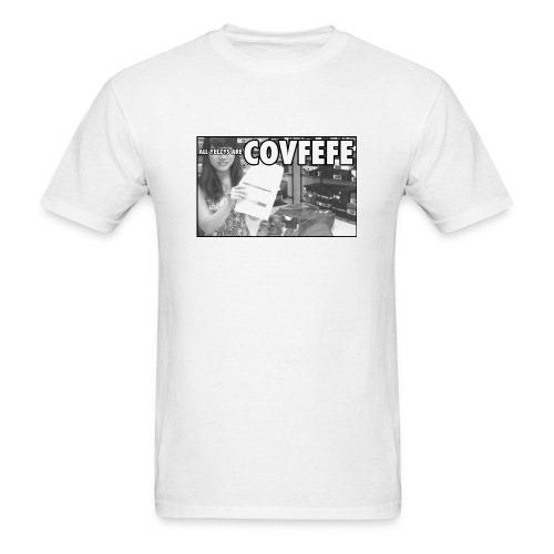 AllYeezysAreCOVFEFE - Men's T-Shirt