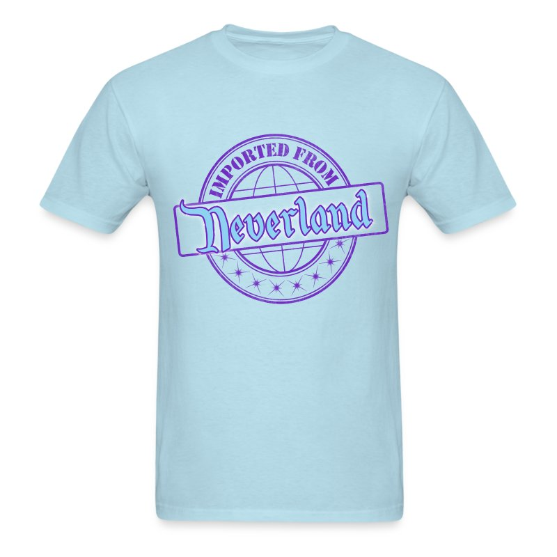 Imported from Neverland - Purple - Men's T-Shirt