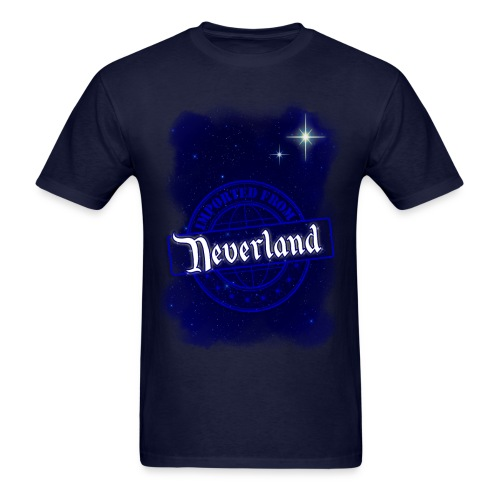 Imported From Neverland - Star - Men's T-Shirt