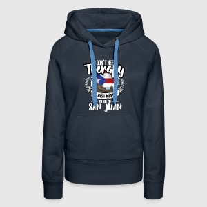Cities Therapy San Juan Hoodies - Women's Premium Hoodie