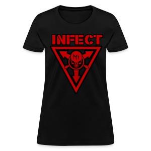 INFECT MUSIC RED HONEYS SHIRT - Women's T-Shirt