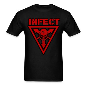 INFECT MUSIC RED SHIRT - Men's T-Shirt