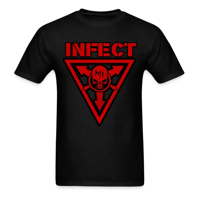 INFECT MUSIC RED SHIRT