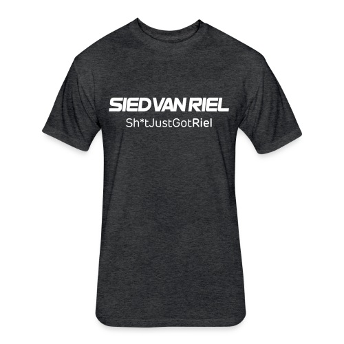 Male T Fitted [Heather Black]  - Fitted Cotton/Poly T-Shirt by Next Level