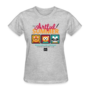 Women's The Artful Summer T-Shirt - Women's T-Shirt