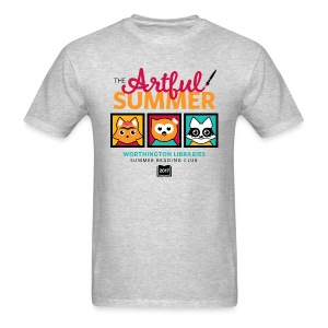 Adult The Artful Summer T-Shirt - Men's T-Shirt