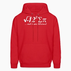 i eight sum pi Hoodies