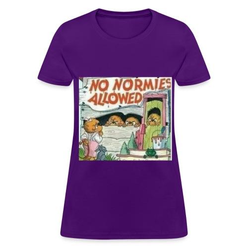 No Normie Gang - Women's T-Shirt