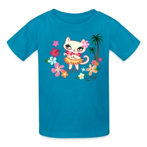 Hula Kitty - Kids' T-Shirt