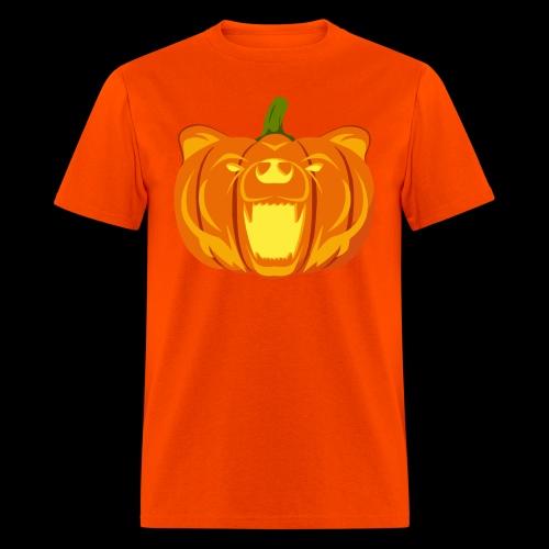 Pumpkin Bear Tee - Men's T-Shirt