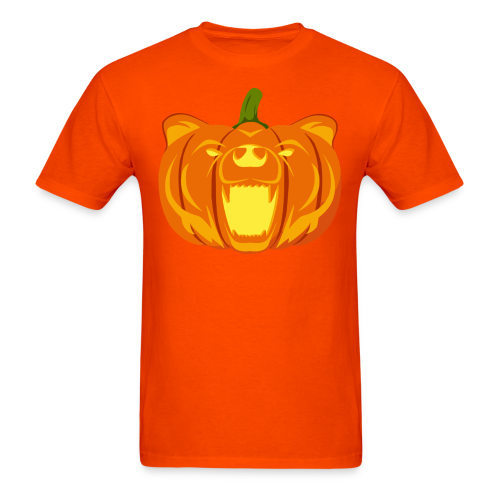 Pumpkin Bear Tee - Men's T-Shirt