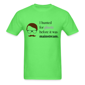 Paranormal Hipster Tee - Men's T-Shirt