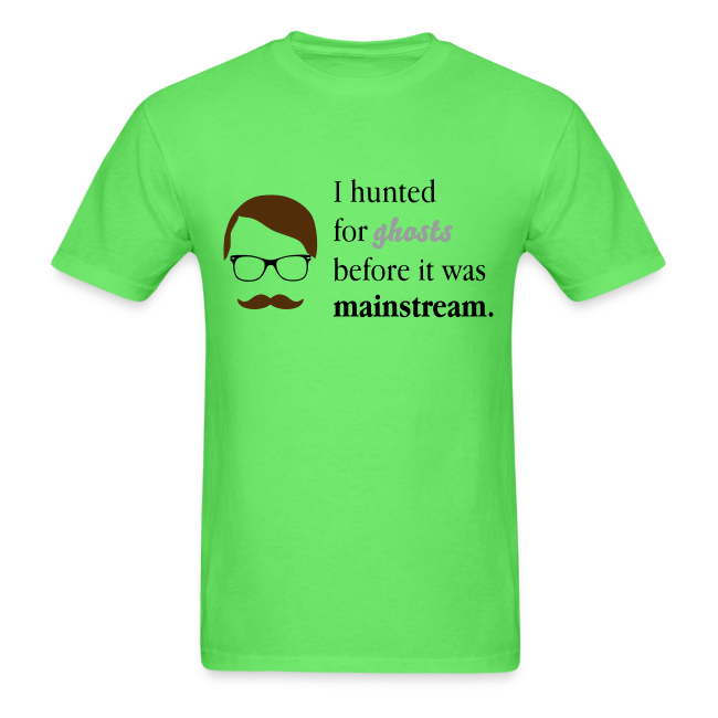 Paranormal Hipster Tee