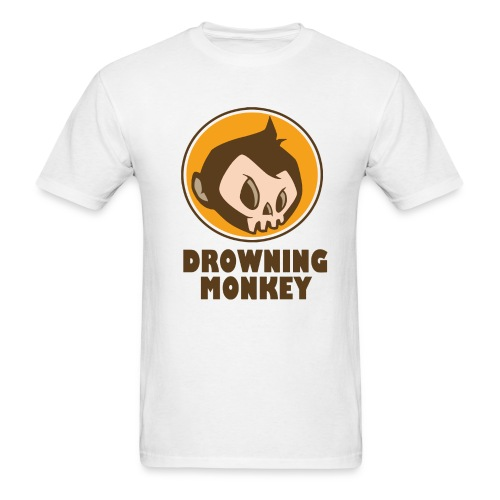 Drowning Monkey  - Men's T-Shirt