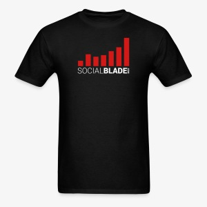 Social Blade Traditional Logo T-Shirt - Men's T-Shirt