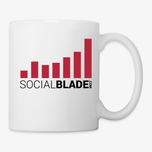 Social Blade White Mug - Coffee/Tea Mug