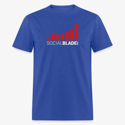 Social Blade Traditional Logo T-Shirt - Men's T-Shirt