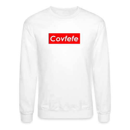 Covfefe Red Supreme Sweatshirt - Crewneck Sweatshirt