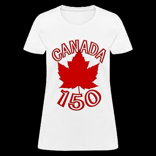 Canada 150 T-shirts - Womens - Women's T-Shirt