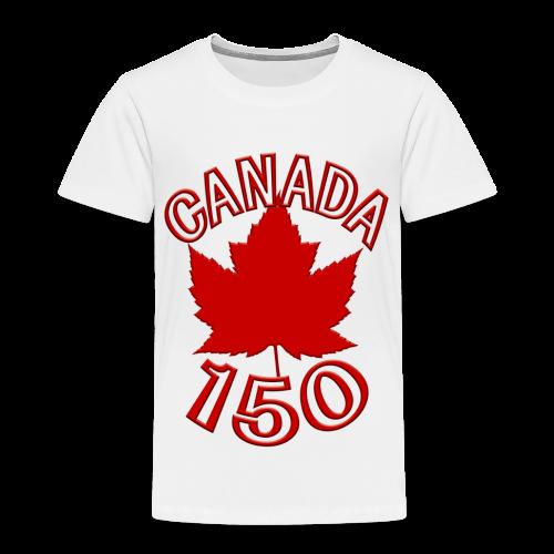 Canada 150 T-shirts - Toddler - Toddler Premium T-Shirt