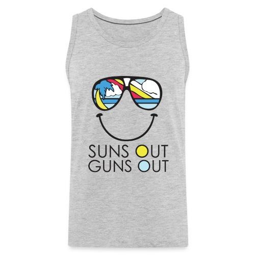 Suns Out Guns Out  - Men's Premium Tank