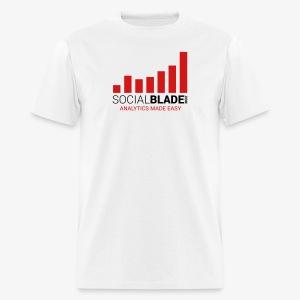 Social Blade Basic T-Shirt - Men's T-Shirt