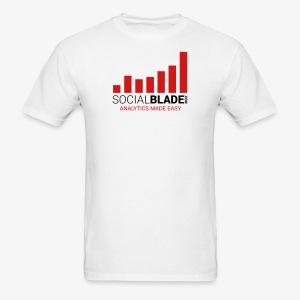 Social Blade Basic T-Shirt - Men's T-Shirt