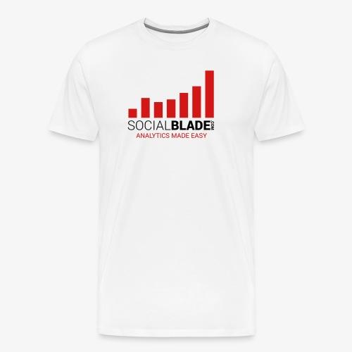 Social Blade Traditional Premium T-Shirt - Men's Premium T-Shirt