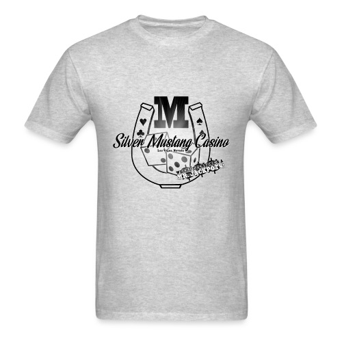 Silver Mustang Casino - Mr. Jackpots - Men's T-Shirt
