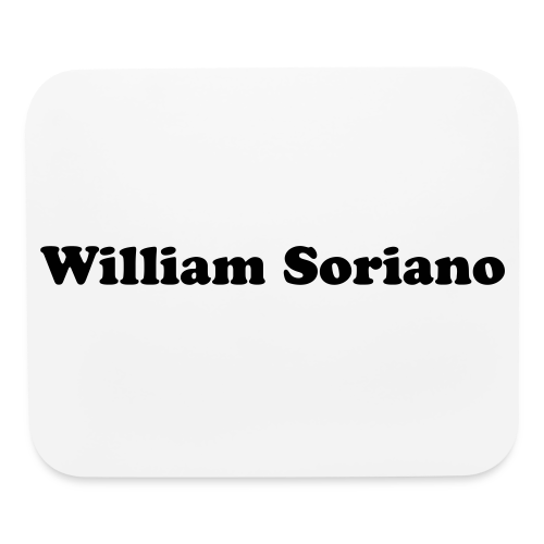 William Soriano Mouse pad - Mouse pad Horizontal