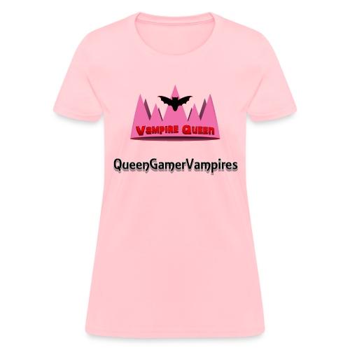 QueenGamerVampires Fan Shirt (Women) - Women's T-Shirt