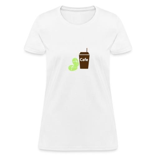 Cafe' Beans - Women's T-Shirt