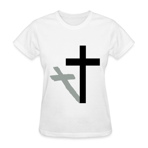 Cross 'n Shadow - Women's T-Shirt