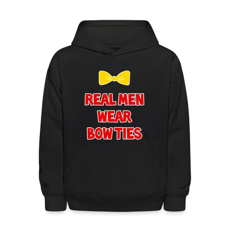 Real Men Wear Bow Ties - Mickey - Kids' Hoodie
