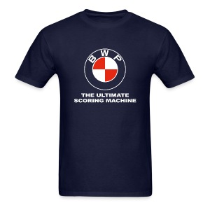 BWP Ultimate Scoring Machine - Men's Navy - Men's T-Shirt