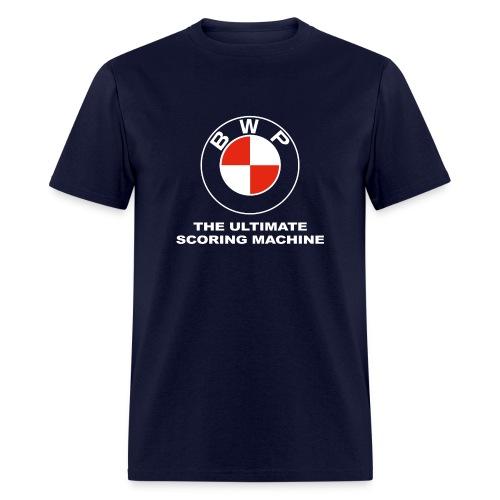 BWP Ultimate Scoring Machine - Men's Navy - Men's T-Shirt