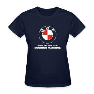 BWP Ultimate Scoring Machine - Ladies' Navy - Women's T-Shirt