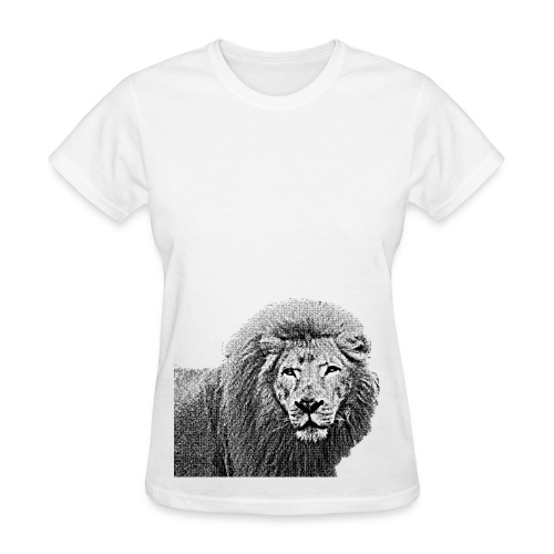 Vintage Lion Half Body - Women's T-Shirt
