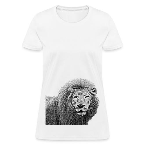 Vintage Lion Half Body - Women's T-Shirt